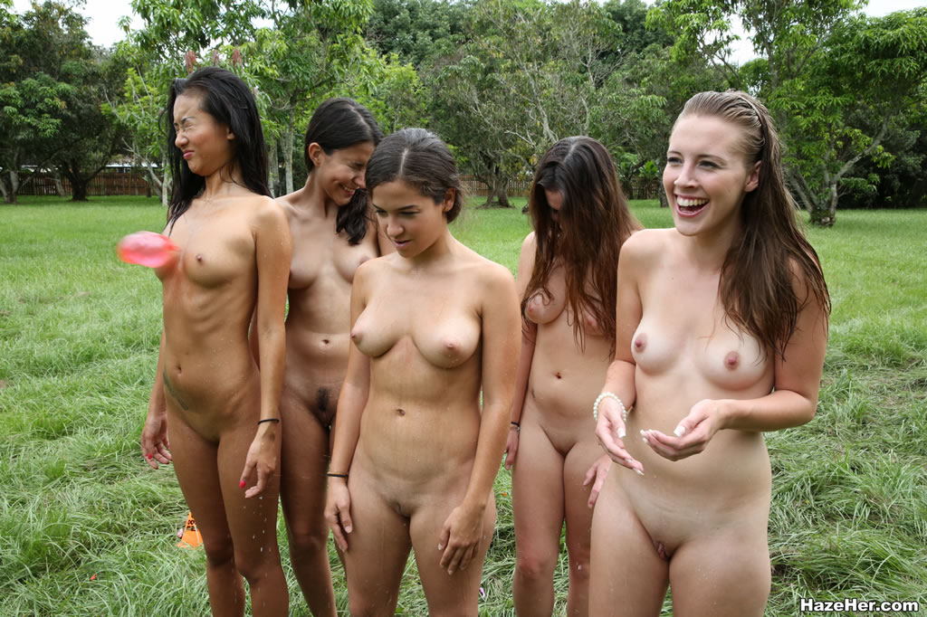 Can college initiation girl naked have hit